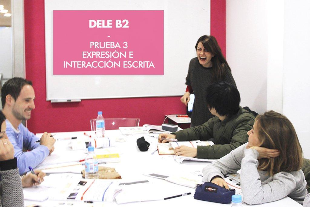 """DELE B2 – Prueba 3 – Expresión e interacción escritas – Carta de presentación: """"Preséntate con orden"""""""