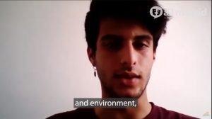 Kossay, estudiante del aula virtual de AIL Madrid