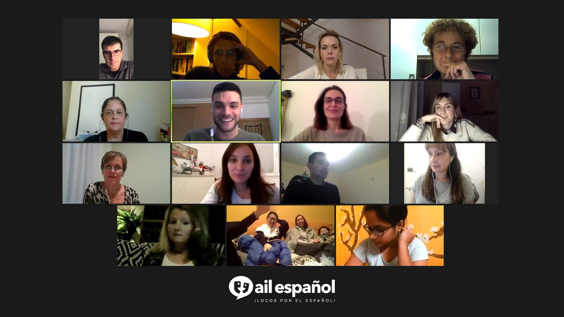 Online Spanish Activities after your classes at AILMadrid