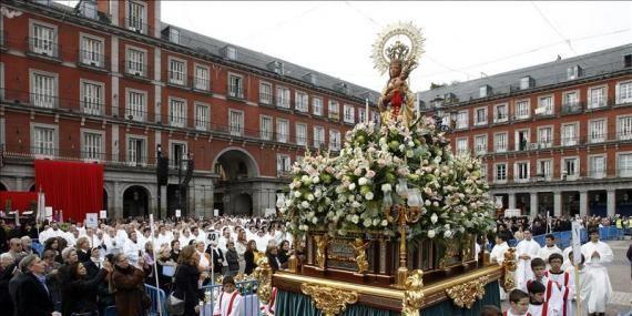 Madrid Public Holiday: Celebration of the Virgen de la Almudena
