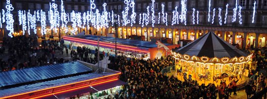 One of Madrid's Christmas markets